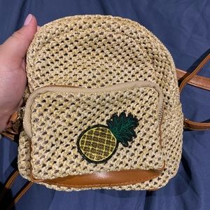 Mini Pineapple bookbag